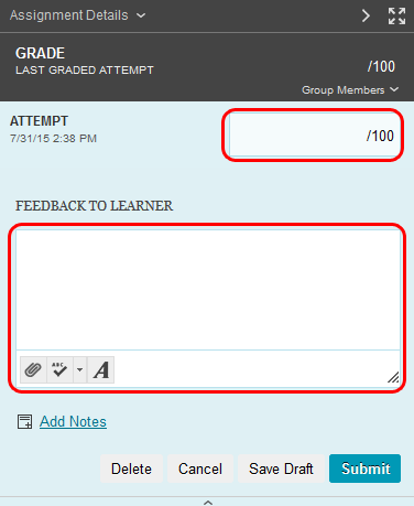 Grade Group Assignments