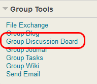 Group Discussion Board