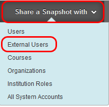 Share with External Users