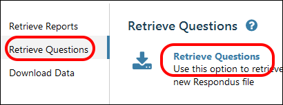 Retreive Questions