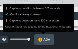 ADA button